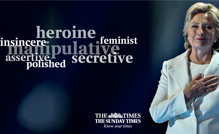 the times hillary clinton
