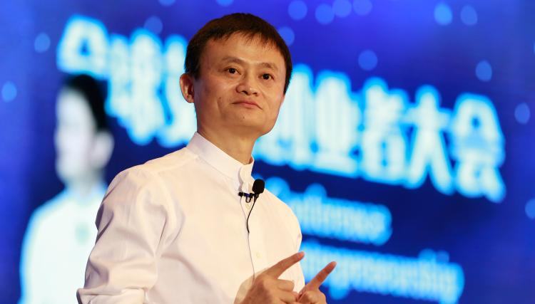Jack Ma, founder of Chinese ecommerce giant Alibaba (Photo: www.alibabagroup.com)