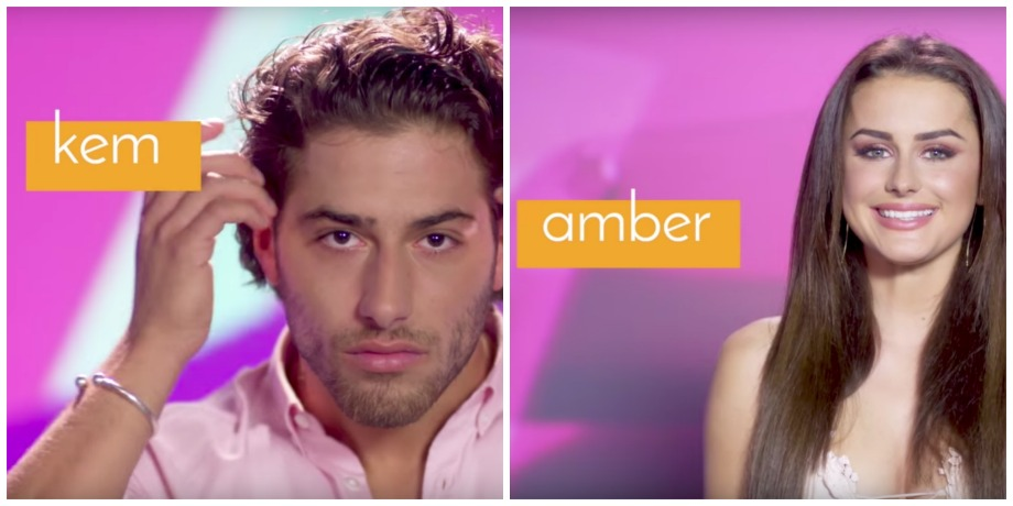 Love Island Kem and Amber