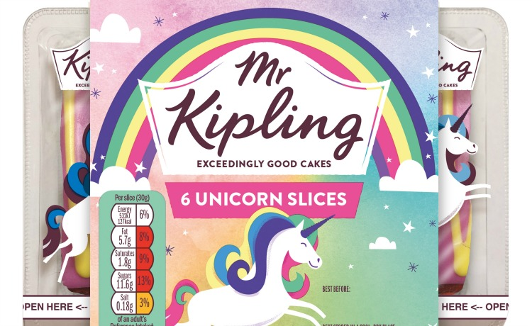 Mr Kipling Unicorn Slice