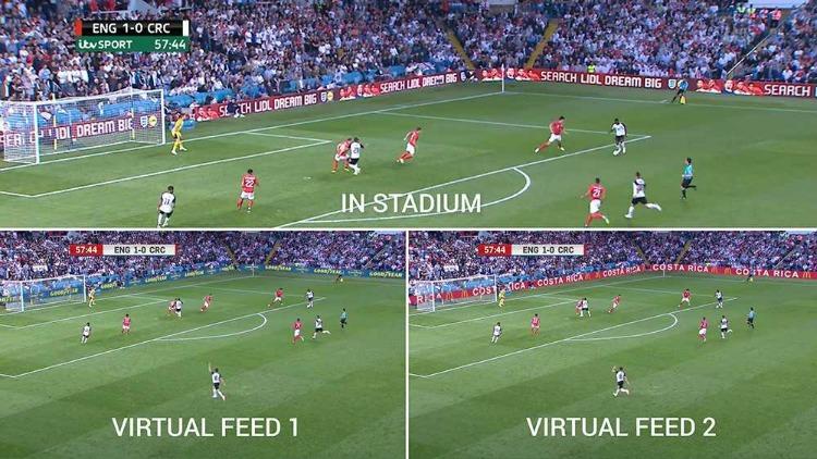 The FA virtual signage