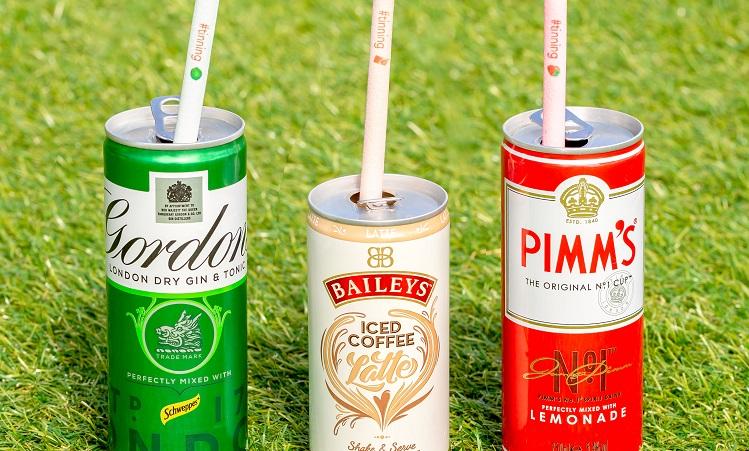 Diageo edible straws