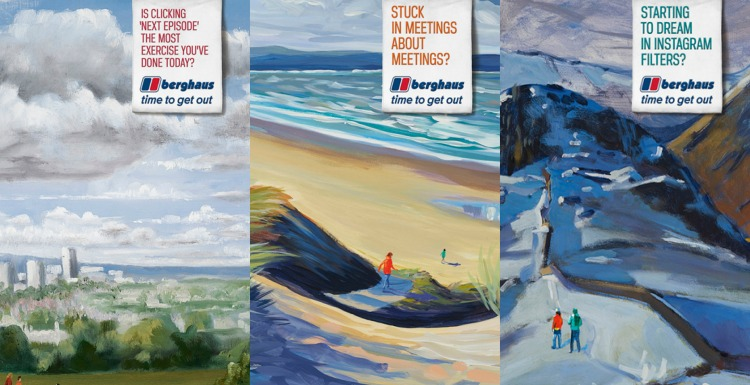 Berghaus marketing campaign