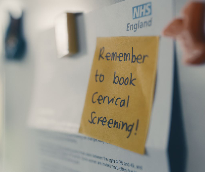public health england cervical screening campaign