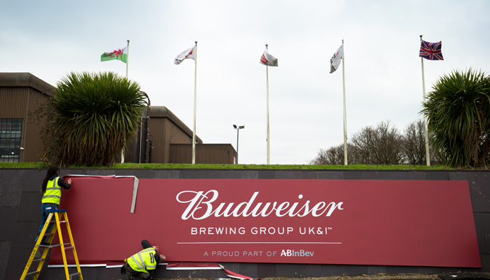 budweiser brewing uk & ireland