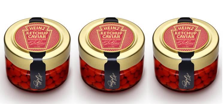 heinz fortnum mason 150th anniversary ketchup caviear