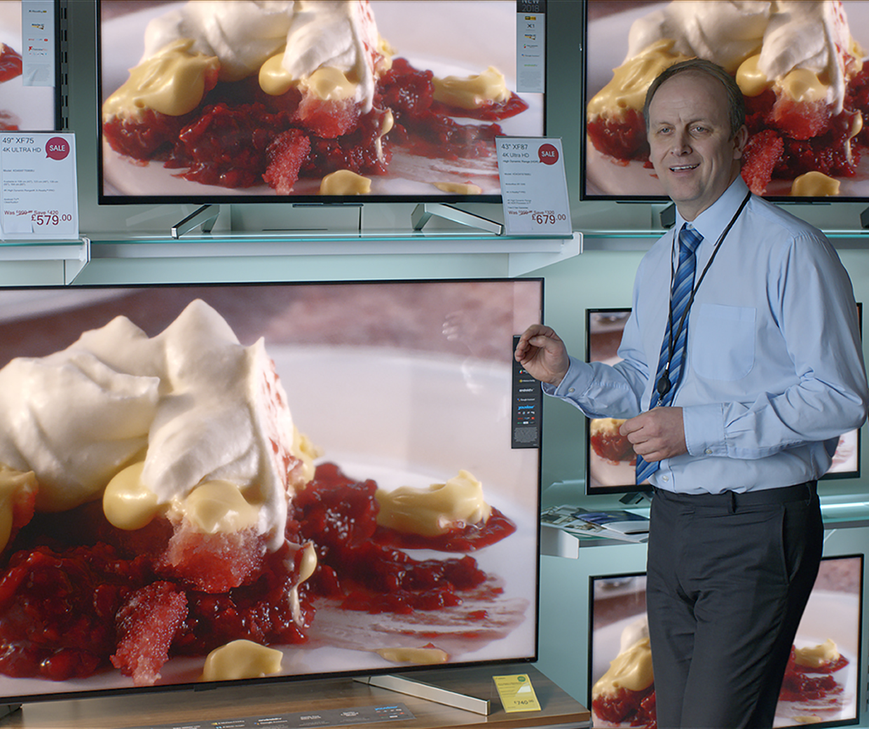 M&S 'This is not just food' campaign trifle