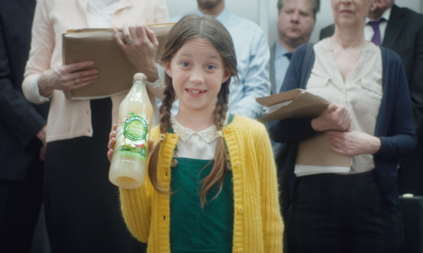 Britvic Robinsons repositioning