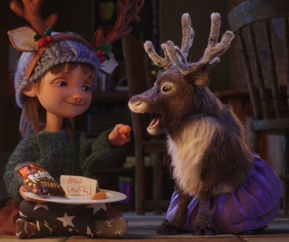 mcdonald's christmas ad reindeer ready