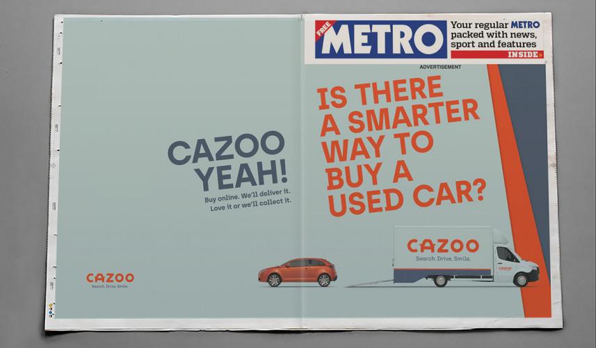 Cazoo Metro Wrap