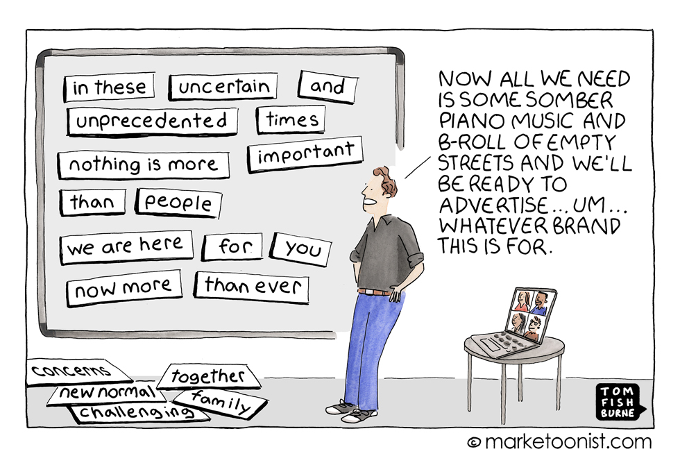 marketoonist generic advertising