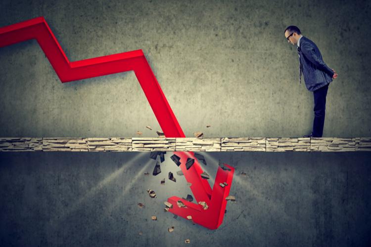 financial crash recession