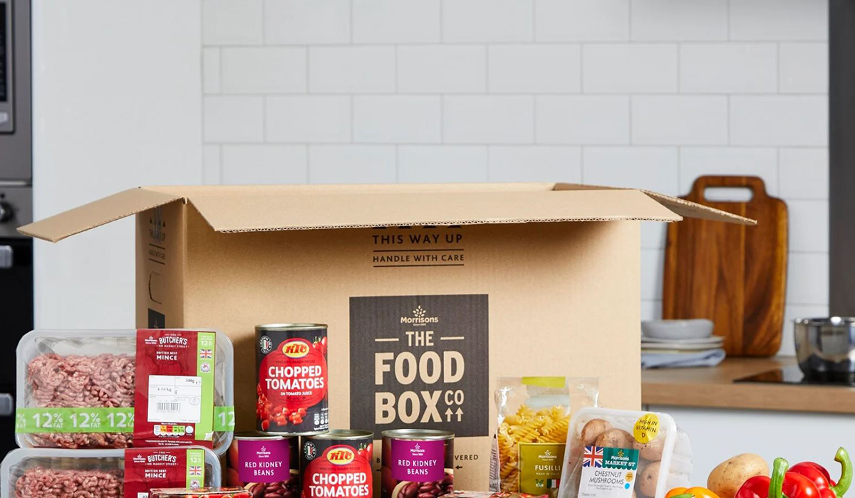 Morrisons food box