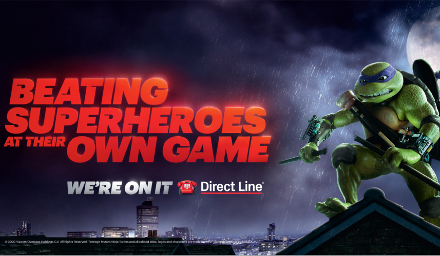 direct line superheroes