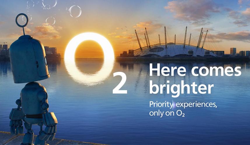 O2 Here comes brighter campaign