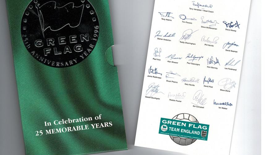 Green Flag Royal Mint