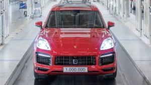 The millionth Porsche Cayenne, a model experts said would damage the brand