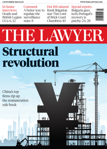The Lawyer 2 November 2015 front cover