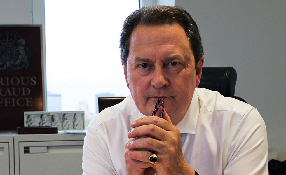 A picture of David Green QC who worked at the Serious Fraud Office, to illustrate The Lawyer Hot 100 Career Quiz with David Green QC career