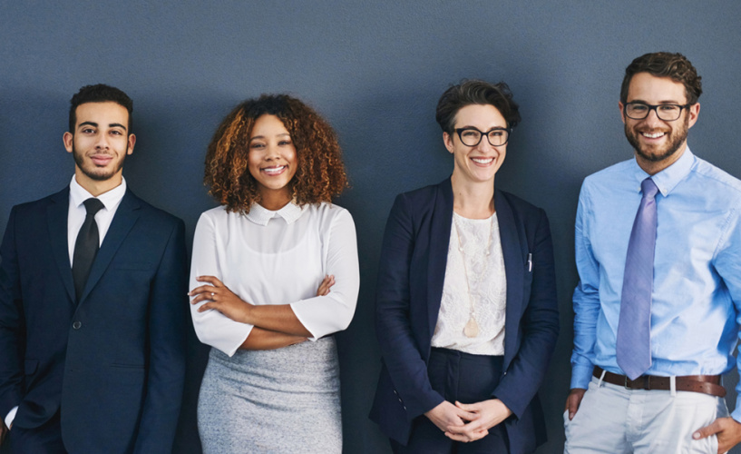 diversity in law trainee numbers