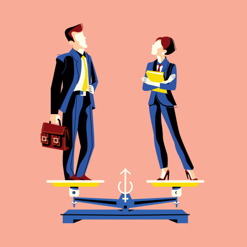 gender balance, male, female