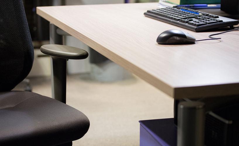 Empty desk - absenteeism at work